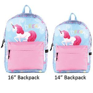 "STARPAK 14"" or 16"" Fashion Backpack - Unicorn"